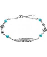 Thomas Sabo Ladies Silver Dreamcatcher Ethno Feather Bracelet