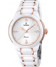 Festina F16698-5 Ladies Rose Gold Plated Ceramic Watch