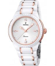 Festina F16698-5 Ladies Rose Gold Plated Ceramic Watch