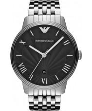 Emporio Armani AR1614 Mens Classic Black Silver Watch