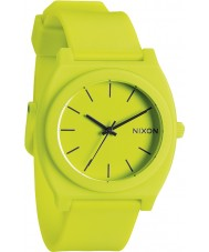 Nixon Mens Time Teller P Neon Yellow Watch
