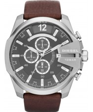 Diesel DZ4290 Mens Mega Chief Black Brown Chronograph Watch