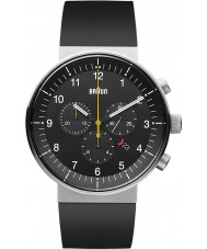 Braun BN0095BKSLBKG Mens Prestige Black Chronograph Watch