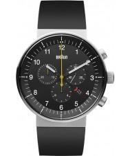 Braun BN0095BKSLBKG Mens Prestige Black Chronograph Watch