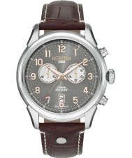 Roamer 540951-49-06-05 Mens Soleure Brown Leather Chrono Watch