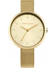 Karen Millen KM135GM Ladies Gold Plated Bracelet Watch