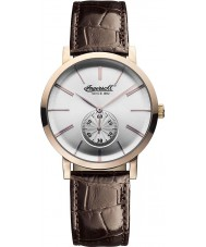 Ingersoll INQ012WHRS Mens Springfield White Brown Watch