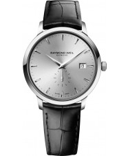 Raymond Weil 5484-STC-65001 Mens Toccata Black Leather Strap Watch
