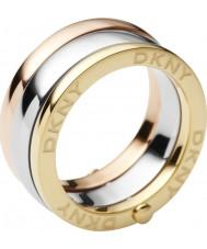 DKNY NJ1826040-503 Ladies Essentials Organic Ring - Size K
