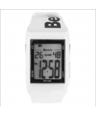 Bench BC0385WH Mens LCD White Rubber Watch