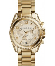 Michael Kors MK5166 Ladies Gold Plated Chronograph Watch