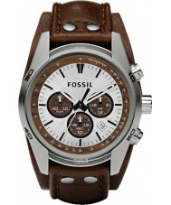 Fossil CH2565 Mens Coachman Brown Leather Chronograph Watch