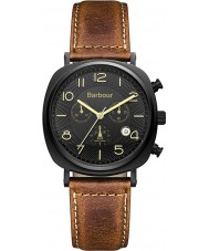 Barbour BB019BKTN Mens Beacon Brown Leather Chronograph Watch