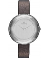 Skagen SKW2274 Ladies Gitte Brown Leather Strap Watch