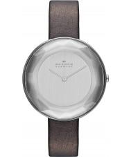Skagen SKW2274 Ladies Gitte Brown Leather Strap Watch