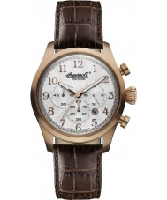 Ingersoll INQ041SLRS Mens Brown Chronograph Watch