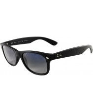 RayBan RB2132 55 New Wayfarer Matte Black 601S78 Polarized Sunglasses