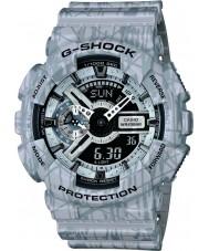 Casio GA-110SL-8AER Mens G-Shock World Time Grey Combi Watch