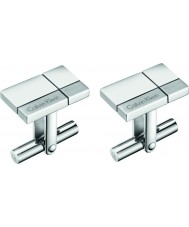 Calvin Klein KJ3PMC090100 Mens Constructed Cufflinks
