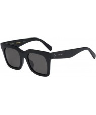 Celine Ladies CL 41411-F-S 807 NR Black Sunglasses