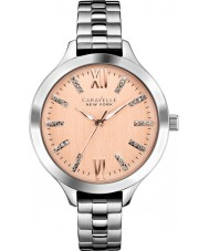 Caravelle New York 45L141 Ladies Carla Silver Steel Bracelet Watch