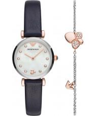 Emporio Armani AR80036 Ladies Watch and Bracelet Gift Set
