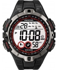 Timex T5K423 Mens Red Black Marathon Sport Watch
