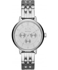 Armani Exchange AX5376 Ladies Payton Silver Steel Bracelet Watch