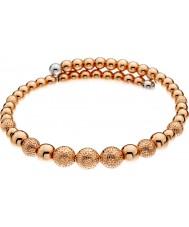 Emozioni DC156 Ladies Ula Rose Gold Plated Wrap Bangle