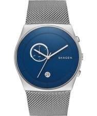 Skagen SKW6185 Mens Havene Chronograph Silver Mesh Strap Watch