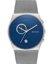 Skagen SKW6185 Mens Havene Chronograph Silver Mesh Strap Watch