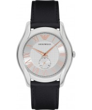 Emporio Armani AR1984 Mens Classic Black Leather Strap Watch