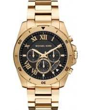 Michael Kors MK8481 Mens Brecken Gold Chronograph Watch