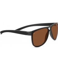 Serengeti Verdi Sanded Black Polarized Drivers Sunglasses