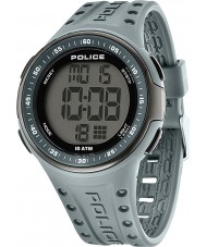 Police 13904JPGYB-02 Mens Indicator Grey Plastic Strap Watch