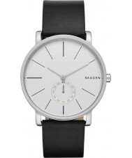 Skagen SKW6274 Mens Hagen Black Leather Strap Watch