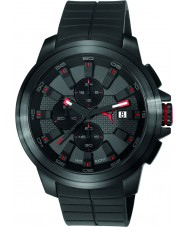 Puma PU103891001 Drill Black Silicone Strap Chronograph Watch