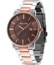 Police 14496JSTR-13M London Two Tone Steel Bracelet Watch