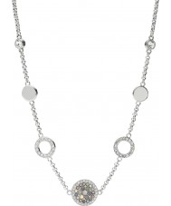 Fossil JF02312040 Ladies Vintage Glitz Silver Steel Necklace