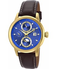 S Coifman SC0205 Mens Brown Leather Strap Watch