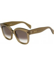 Celine Ladies CL 41805-S QP4 Z3 Military Green Sunglasses