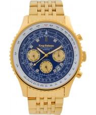 Krug-Baumen 600104DSA Mens Air Traveller Diamond Automatic Watch