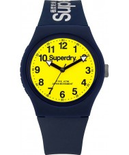 Superdry SYG164UY Ladies Urban Blue Silicone Strap Watch