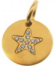Edblad 41630058 Ladies Charmentity Star Pendant