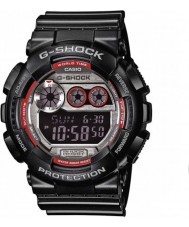 Casio GD-120TS-1ER Mens G-Shock World Time Black Digital Watch