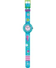 Flik Flak FBNP001 Girls Underwater Party Turquoise Watch