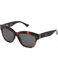 Zadig and Voltaire Ladies SZV052-09AT Shiny Red Havana Sunglasses
