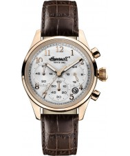 Ingersoll INQ042SLRS Ladies Brown Chronograph Watch