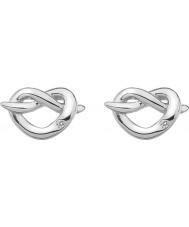 Hot Diamonds DE450 Ladies Infinity Heart Silver Earrings