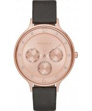 Skagen SKW2392 Ladies Anita Grey Leather Multifunction Watch